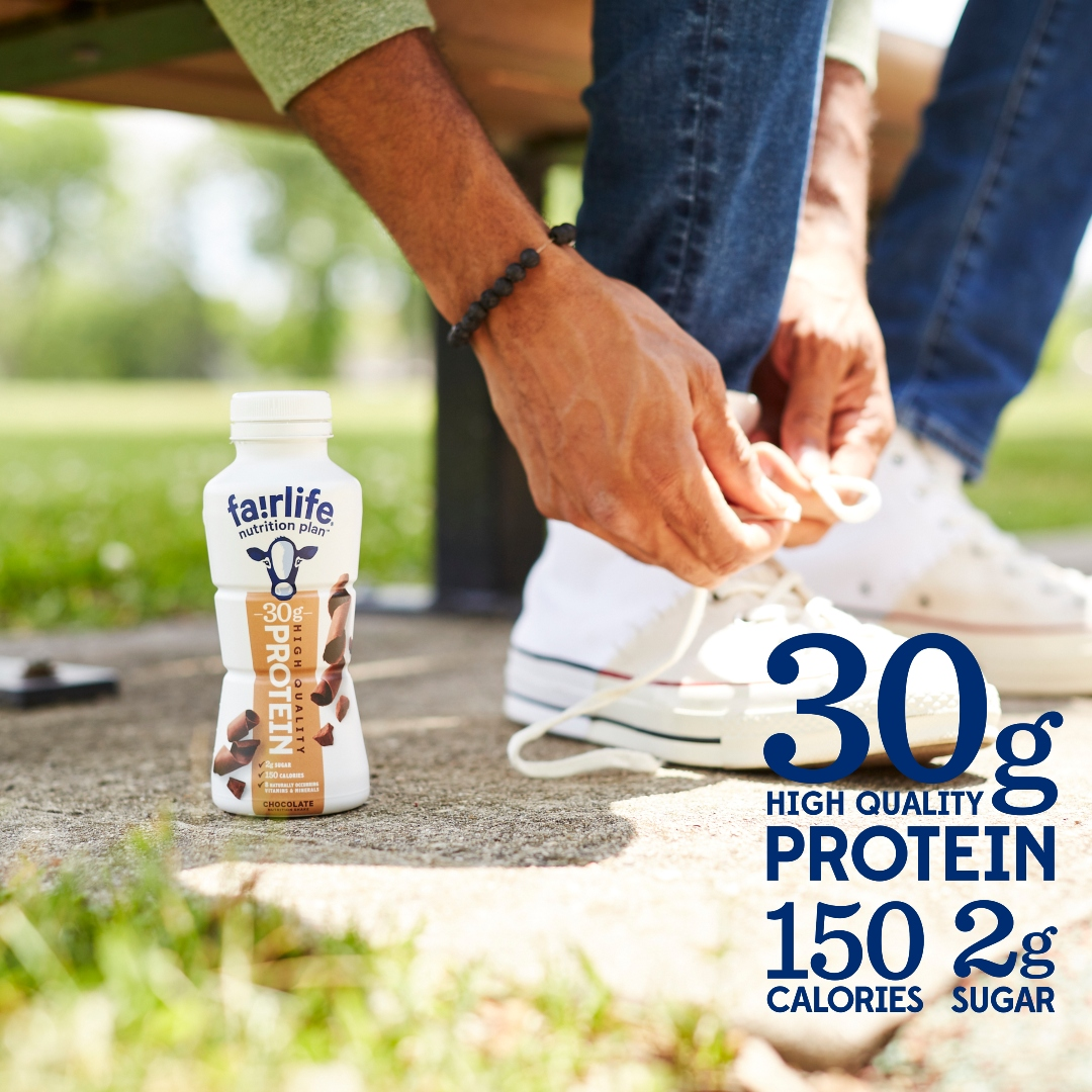 fairlife Nutrition Plan is the great ultra-filtered milk you love with 30g of high-quality protein, 150 calories, and only 2g of sugar to make those snacking decisions easy! Use the store locator below to see where to buy near you 👇 https://t.co/6ukRNDPuwL https://t.co/DB8xAa5t9V