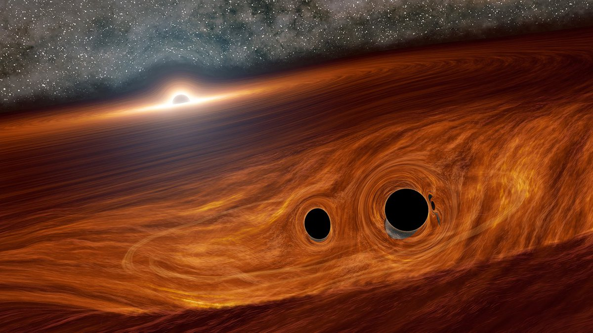 Astronomers may have seen an explosion of light from two colliding black holes. If confirmed, it would be the first known light flare from merging black holes, providing us an opportunity to learn more about these obscure and mysterious objects.