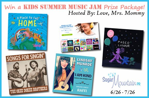 HUGE MUSIC #GIVEAWAY! #WIN a #Kids #Summer #Music Jam #Prize Package! 4 #CDs and #Radio App Subscription! Music #Prize Pack! @BethBC #KidMusic #Kid #Child #Free #Contest #PrizePack #Freebie @Love_MrsMommy https://t.co/TfvoYDFumX https://t.co/cP9FEbBn8s