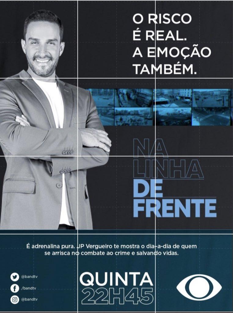 #NaLinhaDeFrente @jpvergueiro @BandTV 👊🏻💙 https://t.co/f5pI3DduIZ