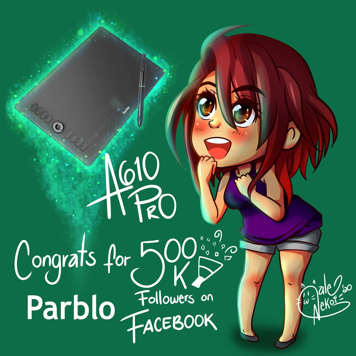 Thank you very much to @ParbloTech  for this incredible prize, I hope soon to be able to use it !!😍😍 and again many congratulations for the 500k on FB🎉🎉🎉 I hope that soon there will be many more !!  #parblo #parblo610pro https://t.co/6CaZLSLtvs