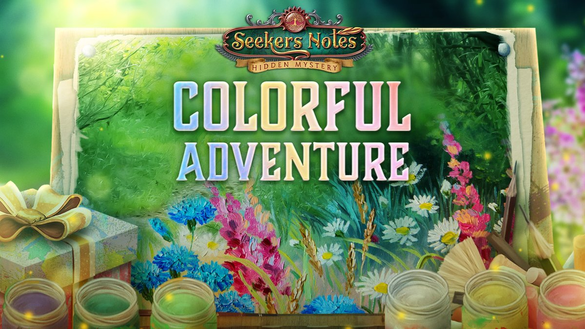 🤩Help Ben to color his drawing by participating in the Colorful Adventure event! Complete all levels and get magical gifts!🖼✨  Good Luck!✌️  #newevent #seekersnotes #hiddenobject #mobilegame https://t.co/UgnLMmOd2r