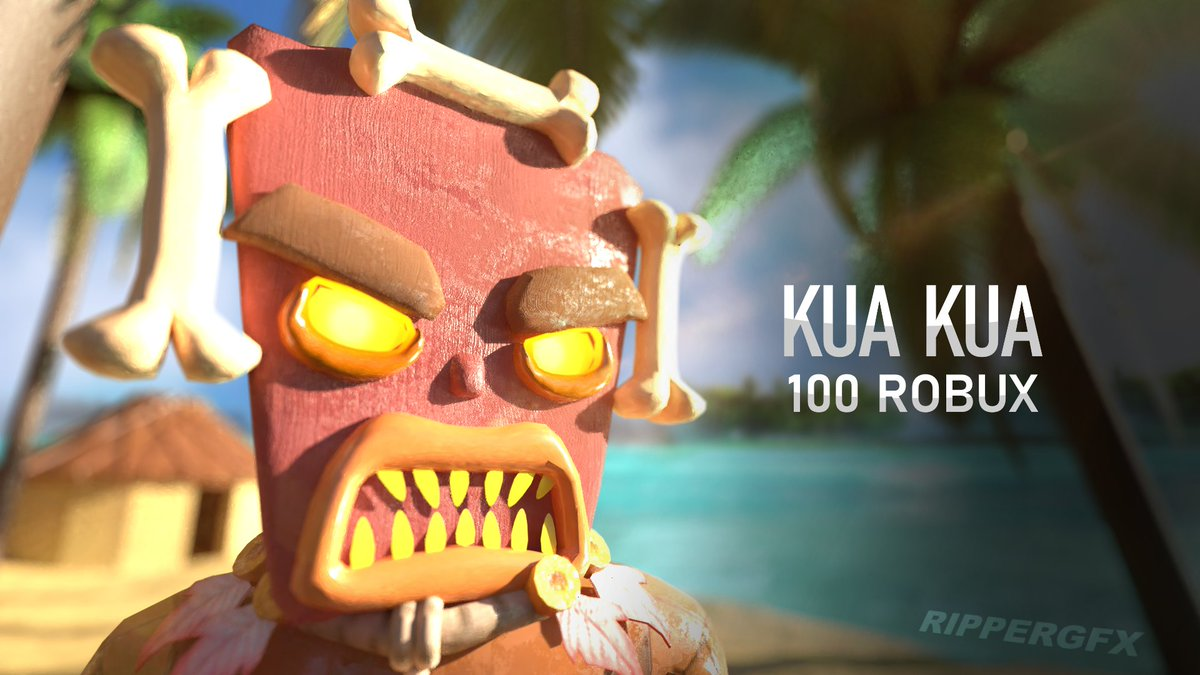 🌋Kua Kua has come from Mad City! 🌴 Now as a wearable hat!  Get it here: https://t.co/ZuAvvBOQiV  Thumbnail by: @RipperGFX   #Roblox #RobloxDev #RobloxUGC #MadCity https://t.co/bACA8DhD03