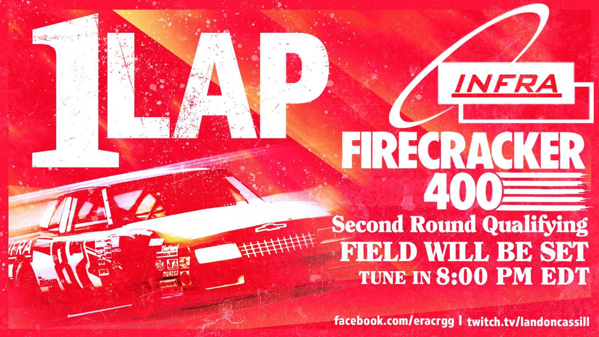 Theyve got 1 lap to prove themselves. Who will make the big show? #Firecracker400 facebook.com/eracrgg | twitch.tv/landoncassill