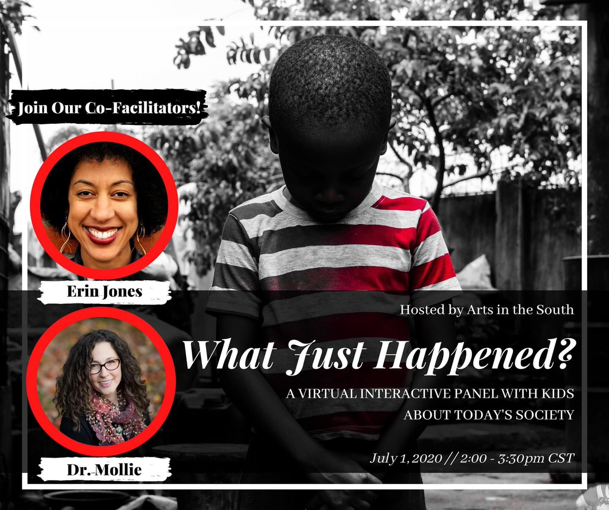 🖤 What are the hard questions your children/students are asking about racism, police brutality, protests, Black Lives Matter and more? Share below!  🖤 Join us for this critical conversation, DRIVEN BY KIDS!  Register here: https://t.co/480ZrklHmC https://t.co/k7pZeyrRHE