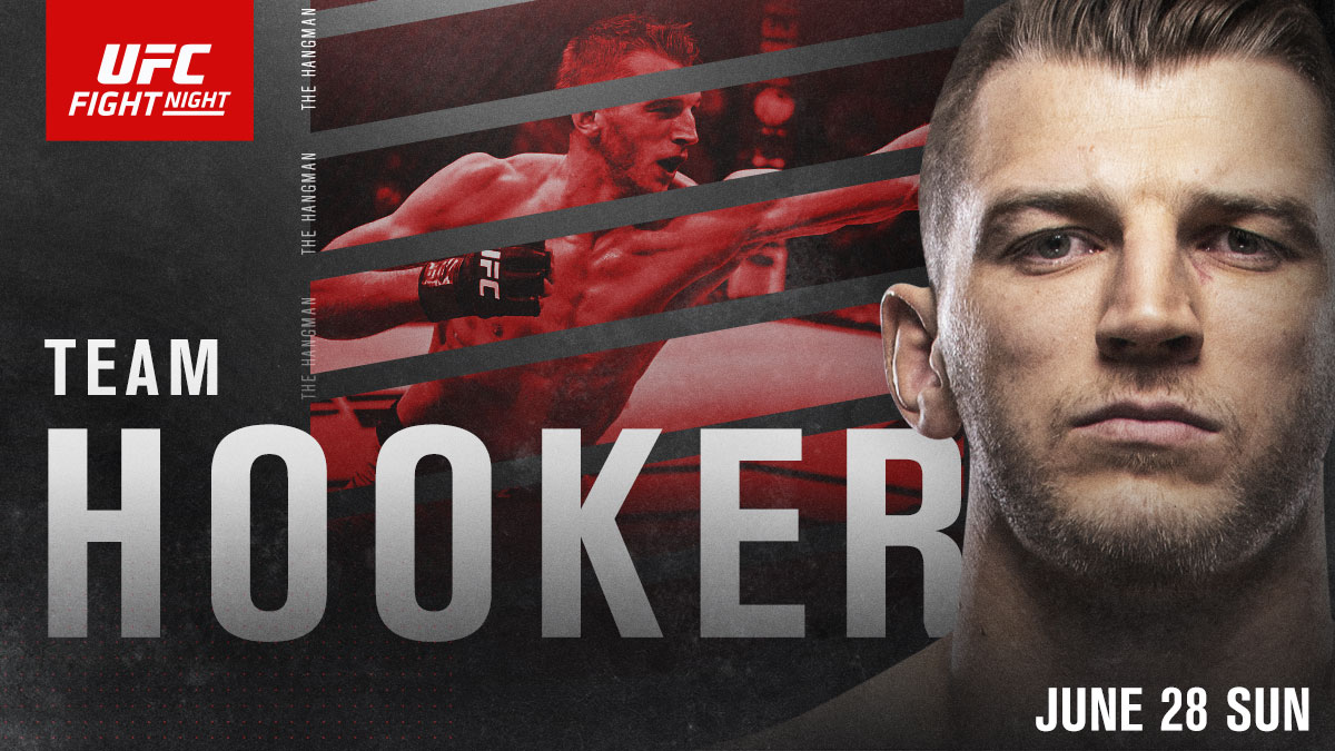 Hit that RT button if you're with @DanTheHangman 🇳🇿  📺 Hooker returns SUNDAY, LIVE on ESPN and @UFCFightPass #UFCVegas4 https://t.co/wKHeuGYvLZ