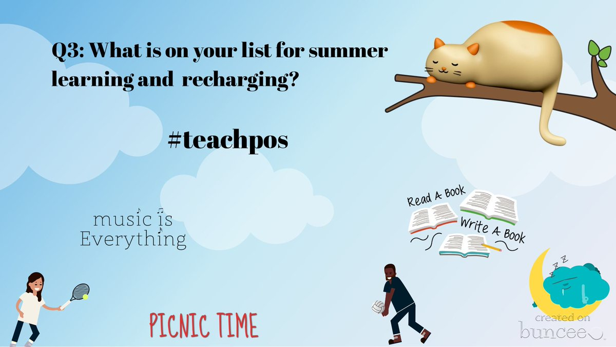Q3: What is on your list for summer learning and recharging?#teachpos #teacherpd #teacherlife