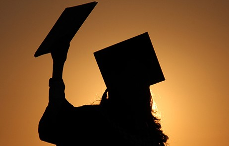 graduate silhouette images - HD2048×1075