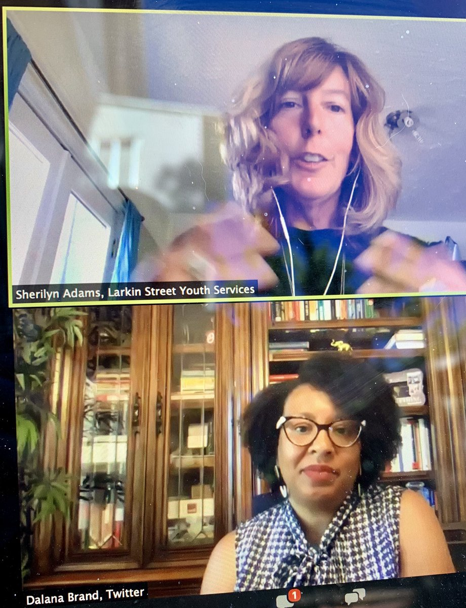 """Inspiring conversation with @d_lux_brand and @sfciti on combatting racial inequality.  """"In order for a company to be successful at inclusion and diversity, the work has to be embedded in all aspects. In pay equity, in procurement, in supplier diversity.""""  #ScalingSocialImpact https://t.co/rFWhUIiryq"""