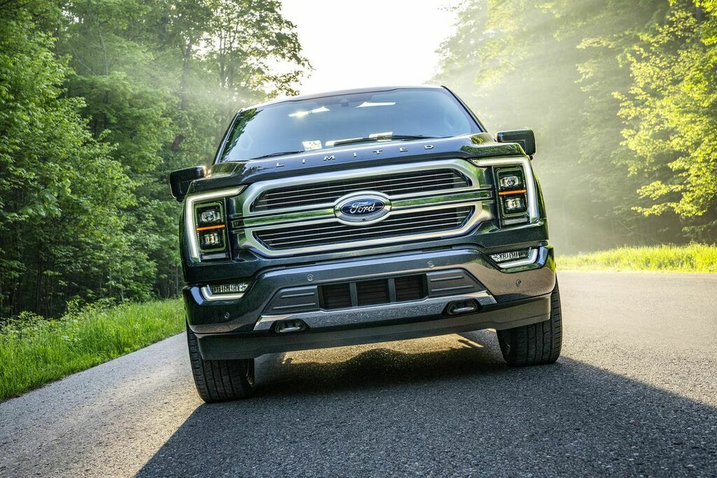 So much cool stuff packed into the all-new #FordF150. Can't wait to get behind the @FordTrucks wheel and check it out!
