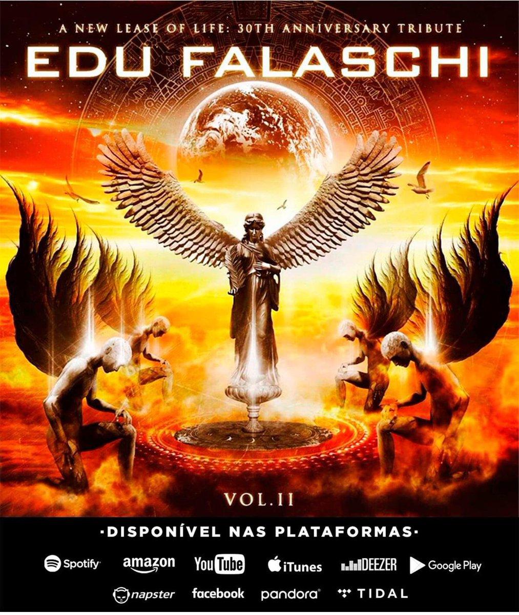 E O DIA CHEGOU!!  já está disponível nas principais plataformas de streaming do mundo o segundo volume do tributo em homenagem ao renomado vocalista e compositor, Edu Falaschi (Angra/Almah/Symbols), que a minha banda @firebornbr participa. #edufalaschi #angra #powermetal #metalpic.twitter.com/mjHJspsBSU