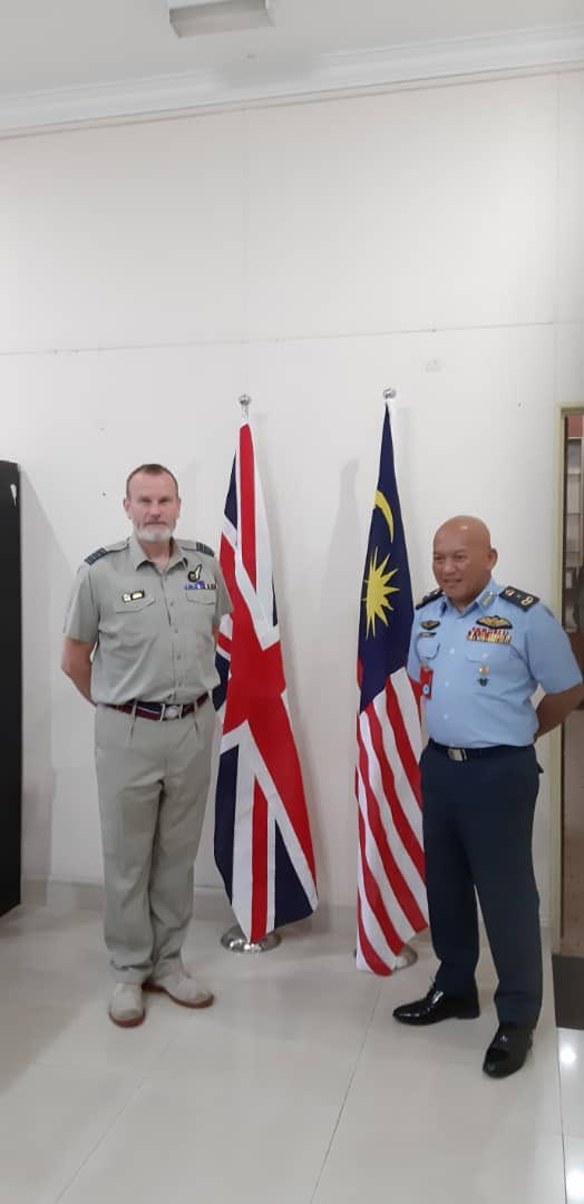 Penang duties at RMAF Butterworth. Great to catch for discussion with the Base Commander and team @airforcenextgen https://t.co/hTrfvU7taQ