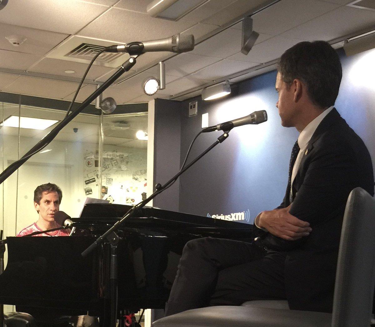 @SarahKSilverman @SethRudetsky Meeting Seth was like looking into a mirror
