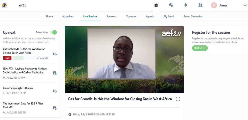 """It was an honor taking part in the """"Gas for Growth; the time to take advantage of gas in west africa"""" webinar organized by @EnergyNet_Ltd. W. Africa has a huge potential and an envious geography. Gas is the fuel of choice. @Aggreko_  @africanews @nj_ayuk @GabrielObiang @egmmh https://t.co/kO8iWy6gvS"""