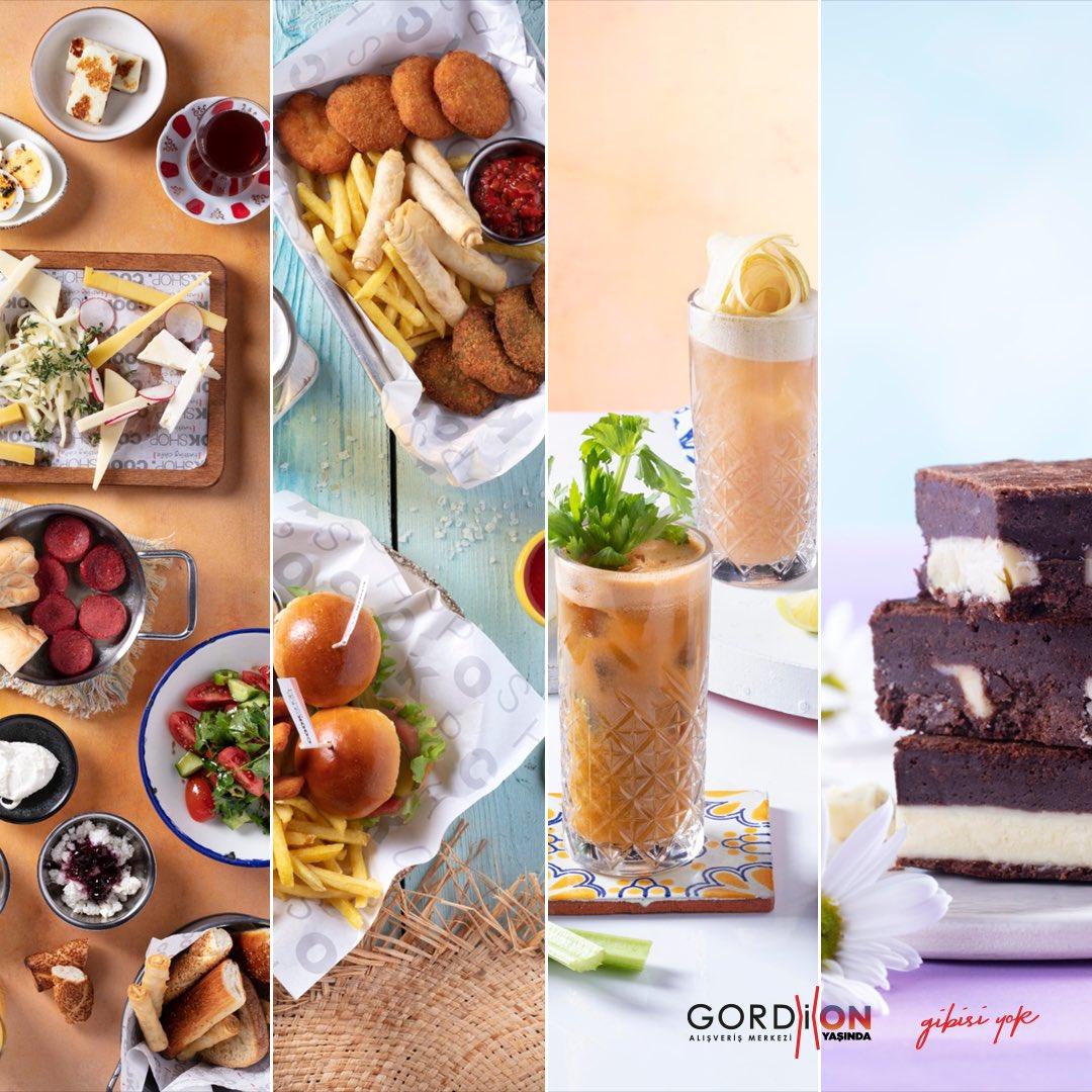 Güzel bir hafta sonu kahvaltısı, içinizi serinletecek içecekler ya da gününüzü güzelleştirecek atıştırmalıklar için doğru adres Gordion Cook Shop! https://t.co/POcHLRd53V