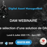 Image for the Tweet beginning: WEBINAIRE Lundi 6 Juillet 17h