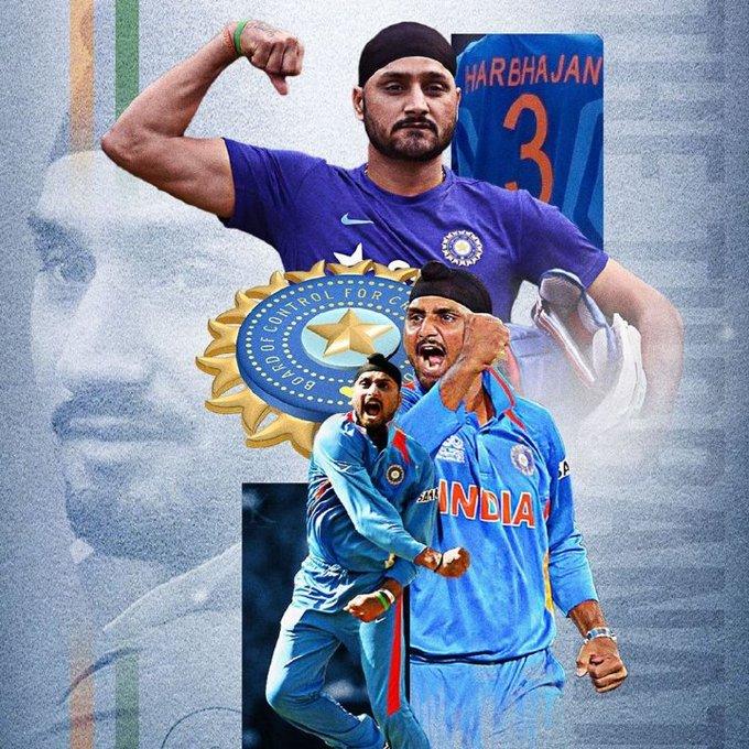 happy birthday to one of the greatest cricketer Thiru.Harbajan singh....