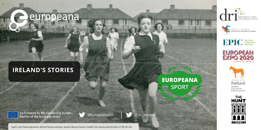 We want to hear your Sporting Story. Share your moments & memorabilia: photos, medals, trophies, programmes, hockey stick with us: @EventsUL @FHCexperience @EPICMuseumCHQ @HuntMuseum for @Europeanaeu  Sporting Collection https://t.co/wNFWw38EsQ #SportingMemories #EuropeanaSport https://t.co/86LtvAgyD9