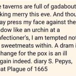 Image for the Tweet beginning: Pepys had his shit together.