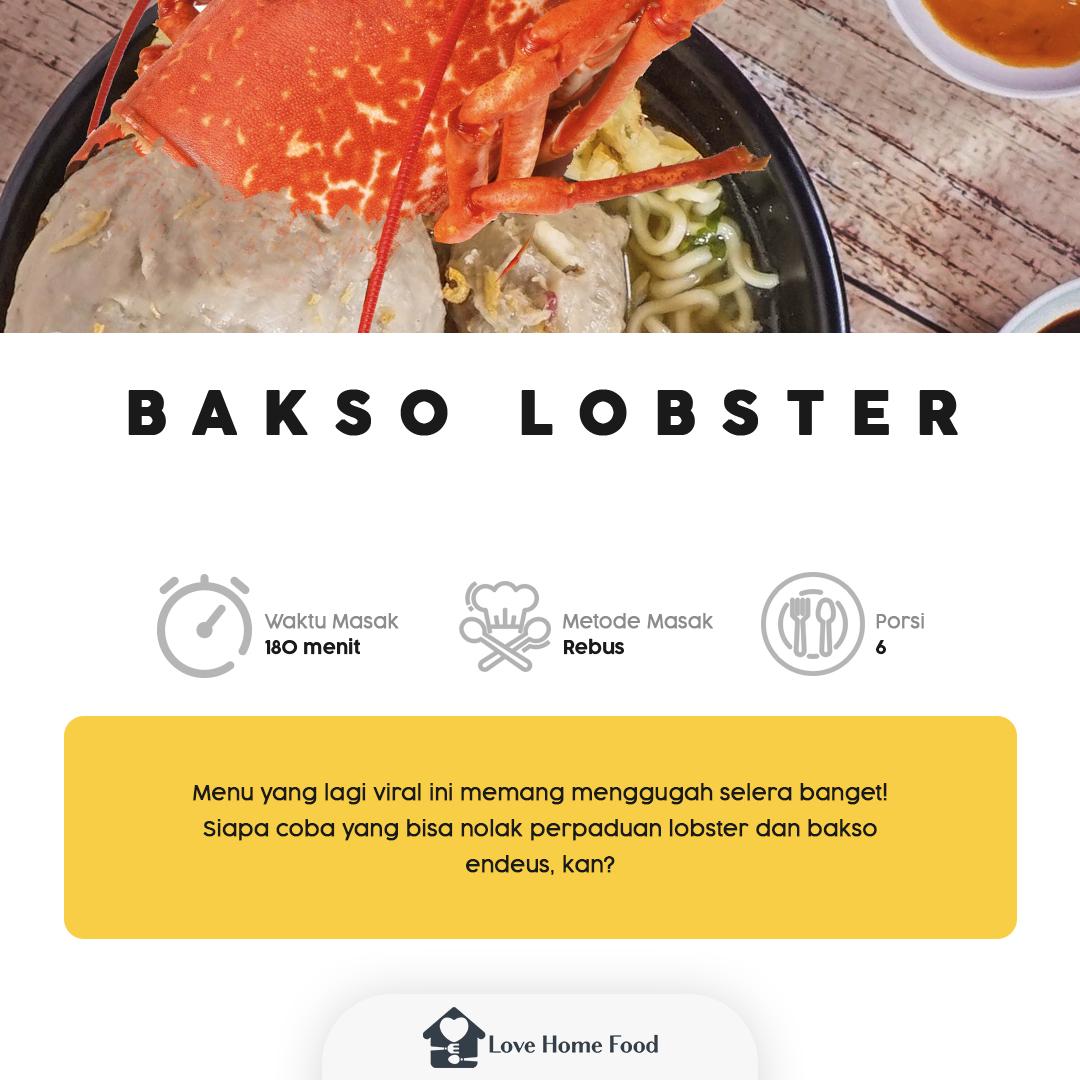 -THREAD BAKSO LOBSTER KEKINIAN-  Whooaaa, mantul banget nih makan Bakso Lobster! 😱😱 Makanan kekinian ini juga bisa lho dibikin sendiri. Cus, langsung cek resepnya di sini! https://t.co/ObP5pe9JPC