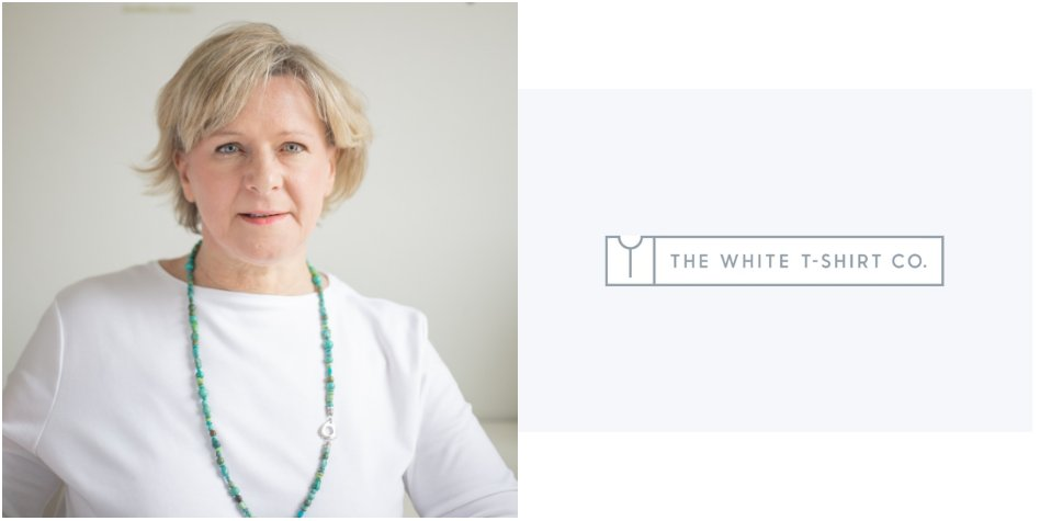 """""""Having the time and expertise to grow awareness, is one of the biggest challenges…it often feels a luxury rather a necessity!"""" - Penny Marron  Learn more about @whitetshirtco from its founder perspective! https://bit.ly/2lNnEF2  #FounderInterview #SustainableFashion pic.twitter.com/NRPSkl9J3u"""