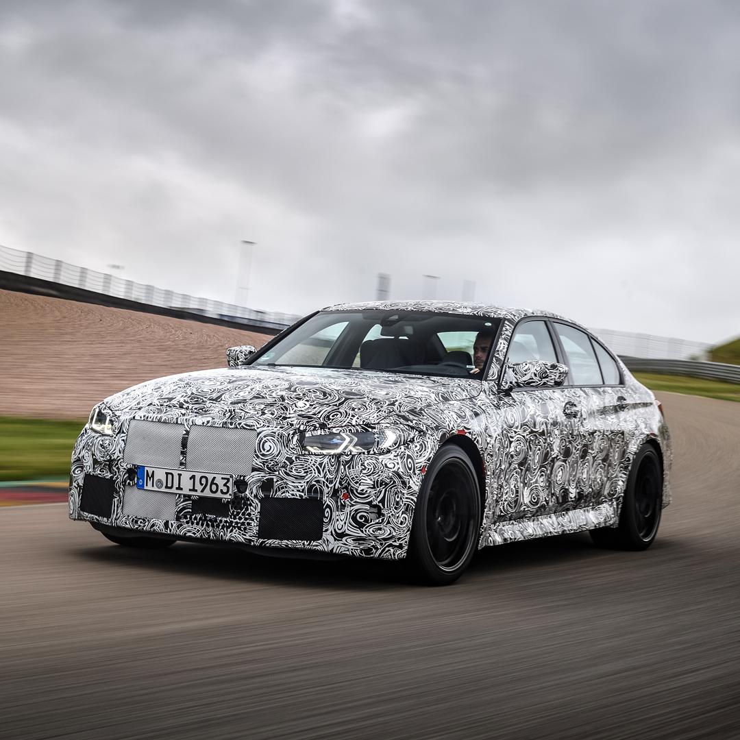 #TheM3 Nowe BMW M3. Już wkrótce. #BMW #M3 https://t.co/0rsVUKKRzp
