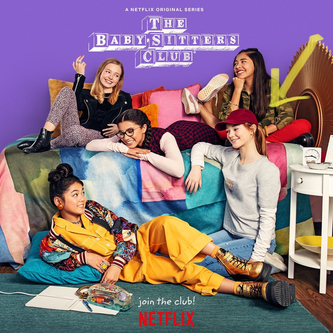 #BabysittersClub might be the purest, most wholesome thing I've ever seen. I don't know about you, but that's exactly the kind of content I need right now. It's out today on @NetflixUK! https://t.co/AkIi22KxQo