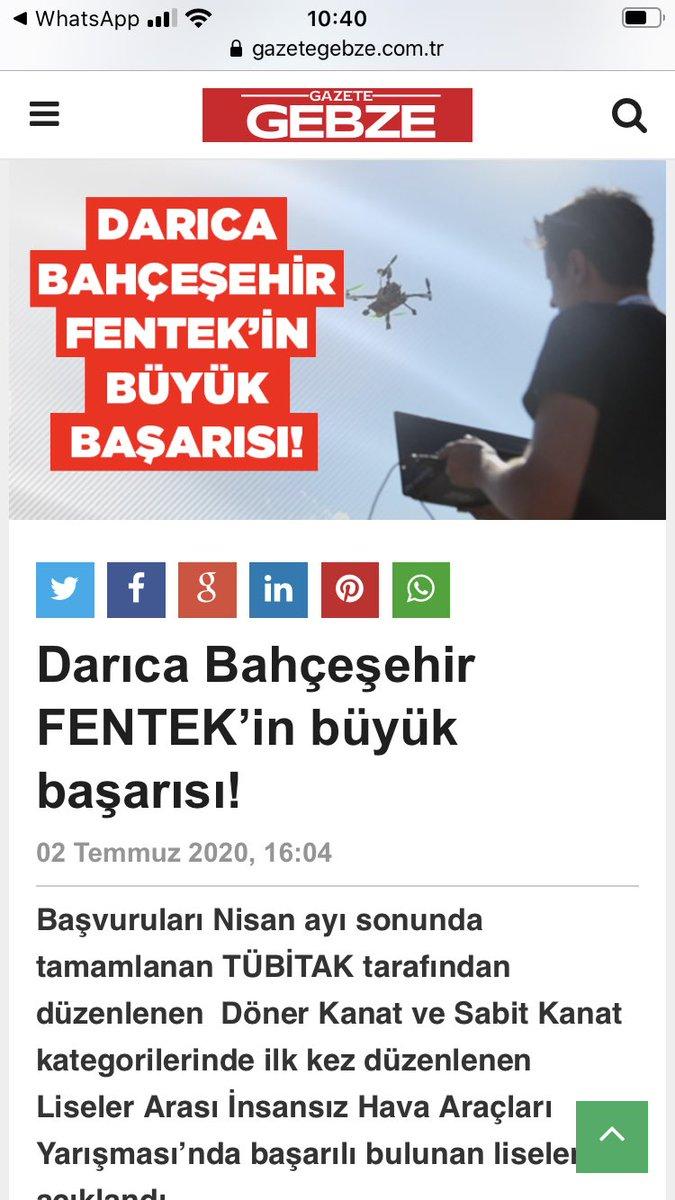Başarımız yerel basında @BFentek @ozgeeasln @dagozlem @EnverYucel https://t.co/55MCLHUN8f