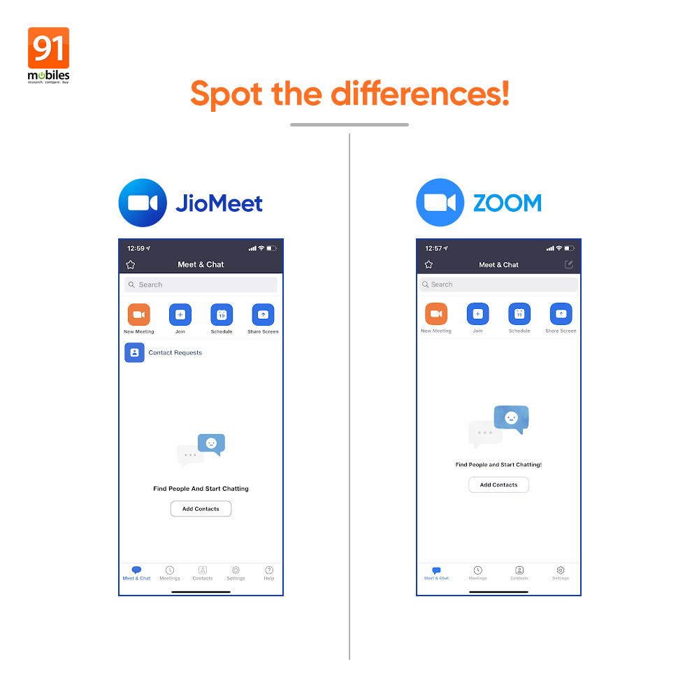 We are not saying Reliance Jio copied the app design from Zoom but... https://t.co/fhCgUaBh0Q