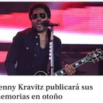 Image for the Tweet beginning: Lenny Kravitz publicará el próximo