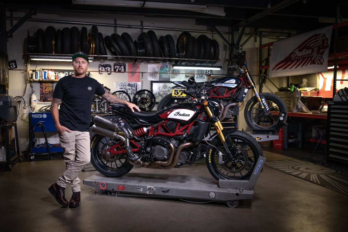 Press Release: INDIAN MOTORCYCLE & ROLAND SANDS DESIGN DELIVER RACE-INSPIRED ACCESSORY COLLECTION FOR FTR 1200 https://t.co/BgSOSp6ex7 https://t.co/a247YqZrj9
