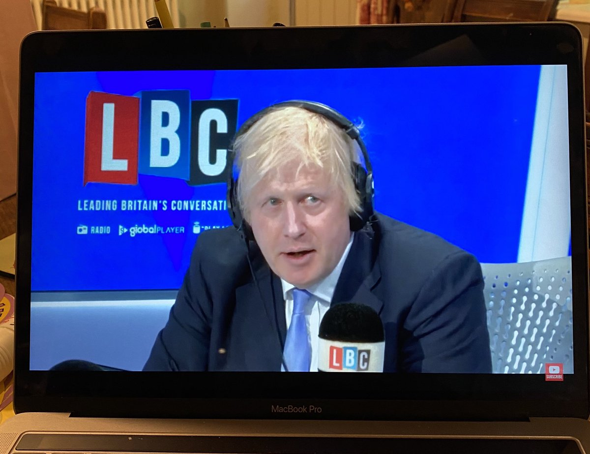 After watching ⁦@BorisJohnson⁩ blathering & obfuscating away for 20 minutes on ⁦@LBC⁩, my 8-yr-old daughter just sighed & delivered her verdict:  'Boris has no idea what he's doing, does he...' https://t.co/s9HVDiVXhd
