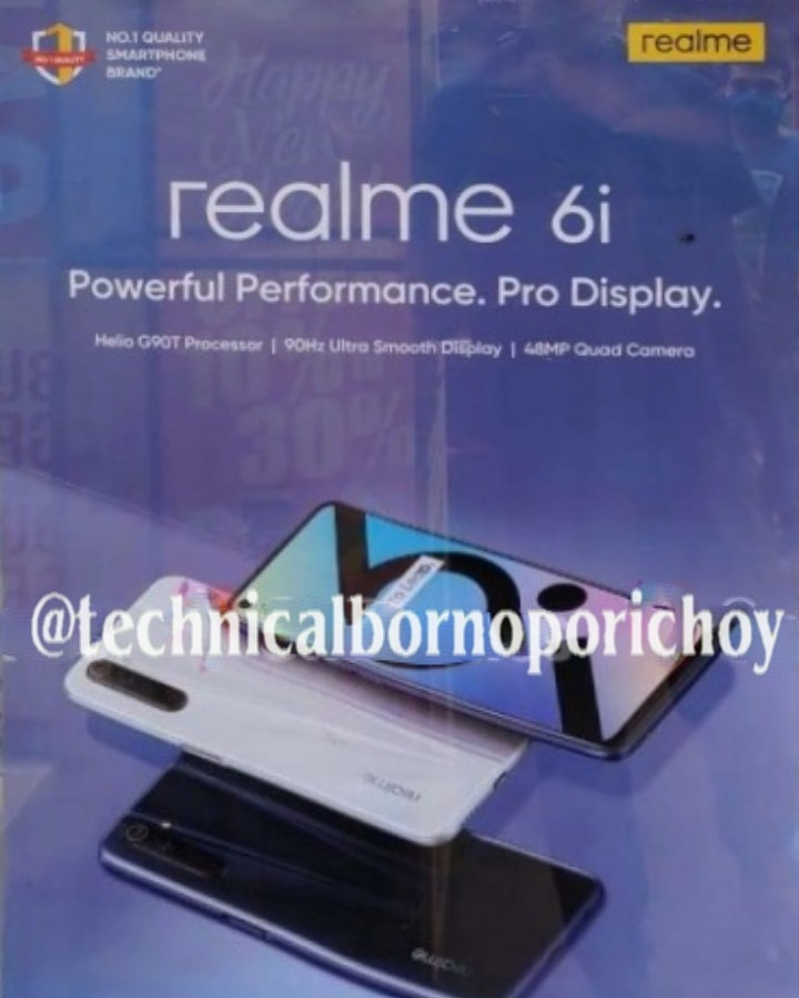 Realme 6i poster spoted which replaces of Realme 6s....... Next month may be launched in India.... #realme #realmeindia #realme6i  #realme6s #realme6iindiapic.twitter.com/knn0dsvcdF