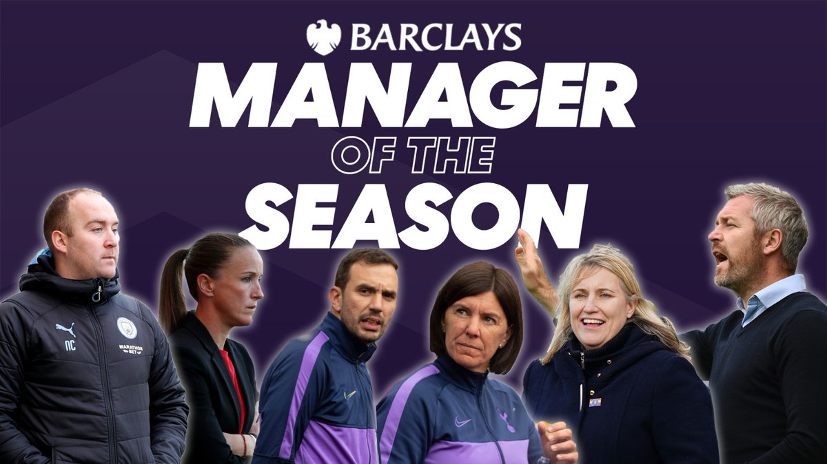 💙 @emmahayes1 💙 @nickcushing80 💙 @WillieKirk 🤍 @hillsyk5 & @JuanC_Amoros ❤️ @CaseyStoney  They've led their sides in successful campaigns, but who will get your vote for @BarclaysFooty Manager of the Season?  Vote now 📨 https://t.co/7XRR0S7chU https://t.co/SJQFACvH6z