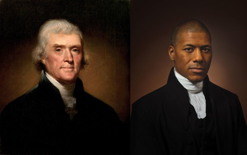 Thomas Jefferson Portrait Recreated by His Sixth Great-Grandson petapixel.com/2020/07/02/tho…