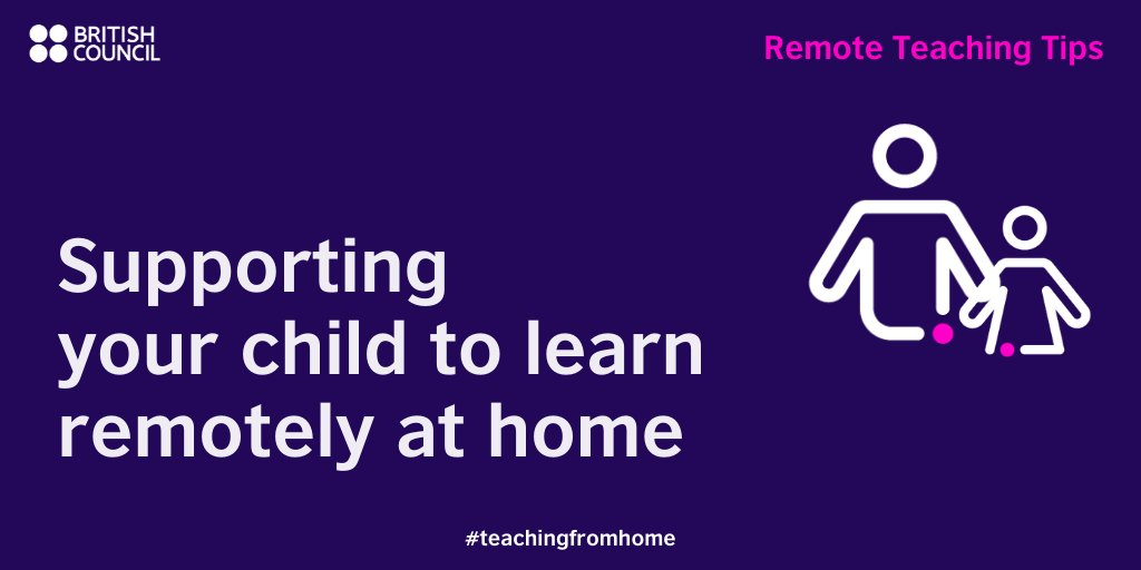 Parents and caregivers have an important role to play in ensuring ongoing learning and well-being for their children at home. Find some ideas here to support their learning. https://bit.ly/RTTParents2  #TeachingFromHome pic.twitter.com/6eSFdVsewh