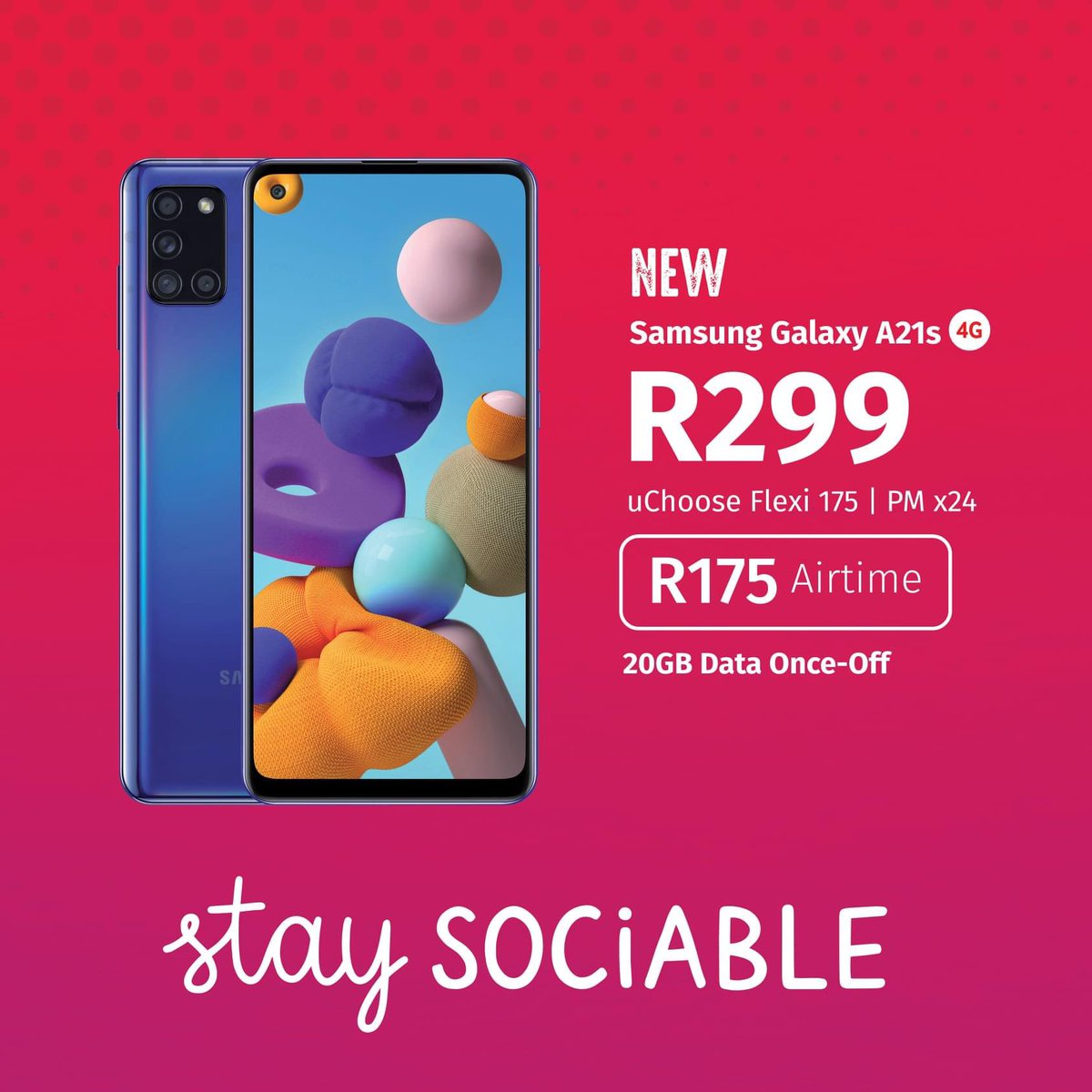 Vodacom 4u On Twitter Stay Sociable With The Samsung Galaxy A21s Today Save Big On Your Connection With Vodacom4u Here4u Connected Samsungmobilesa Https T Co Zuw3m1rlxs