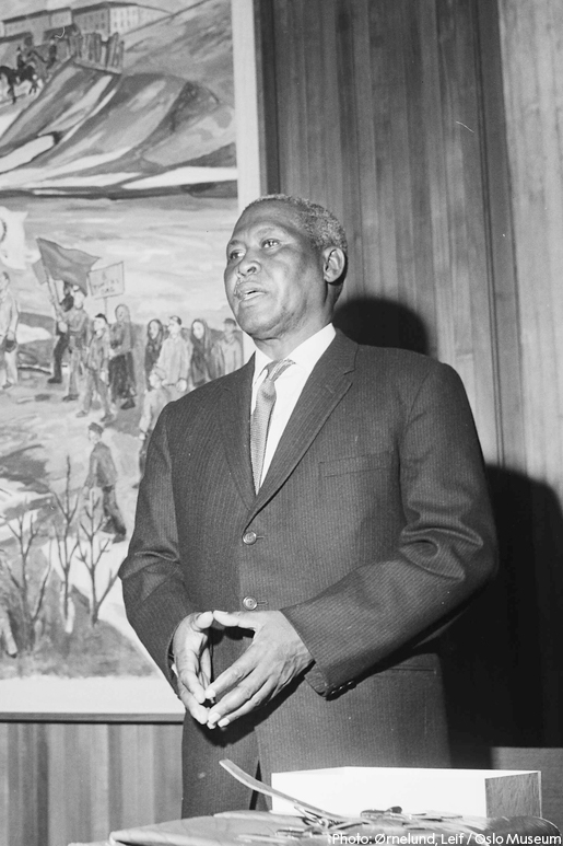 Albert Lutuli - known in Zulu as Mvumbi - was Africas first Nobel Peace Prize laureate. A chief and teacher, he led the South African black population in a non-violent campaign against apartheid and became subject to surveillance, imprisonment and abuse: bit.ly/2AQTXtA