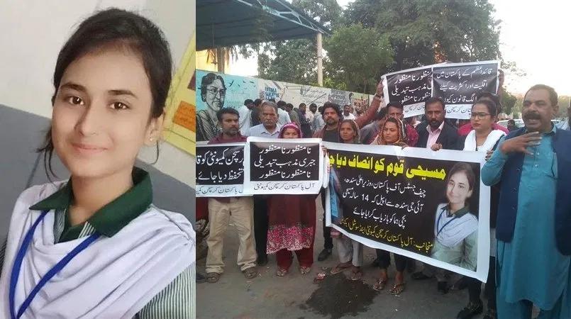 🇵🇰💬#ActuOrient #Pakistan - Huma et Maira, 14 ans, enlevées, converties de force à l'Islam et contraintes au mariage avec leur kidnappeur … voilà le sort peu enviable de ces deux chrétiennes pakistanaises.  #ChristianLivesMatter #chrétiensdOrient https://t.co/SCnRQtYN7Z