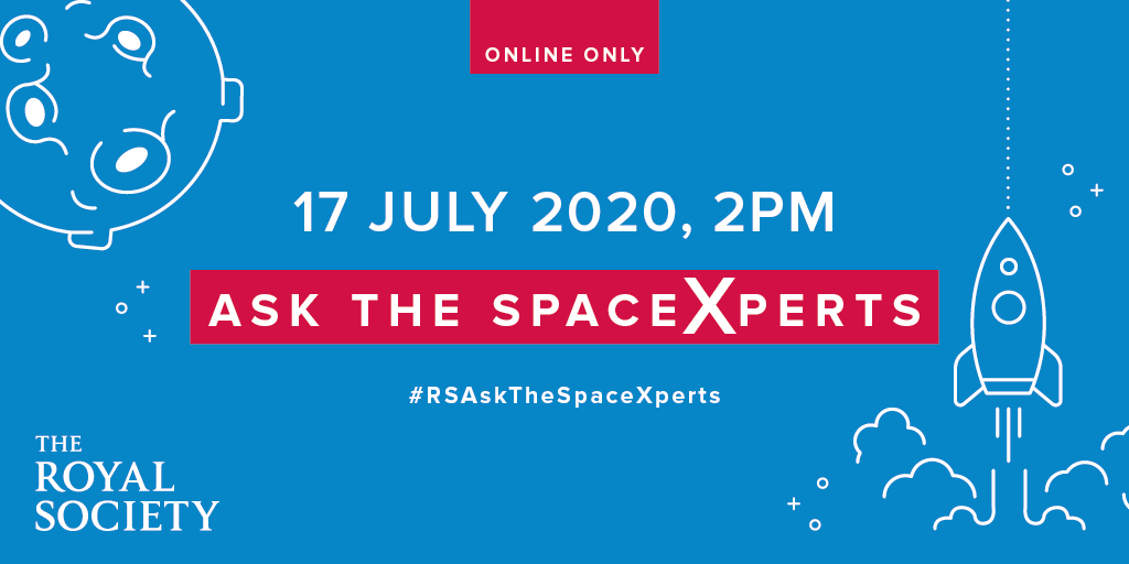 What are black holes? Are we alone in the universe? Our #RSAskTheSpaceXperts at #SummerScience Online is your chance to ask our experts anything about the cosmos. Submit your questions at the link below, or on Twitter using #RSAskTheSpaceXperts!   https://t.co/BbiAXzvwcA https://t.co/7JWH3WweAR