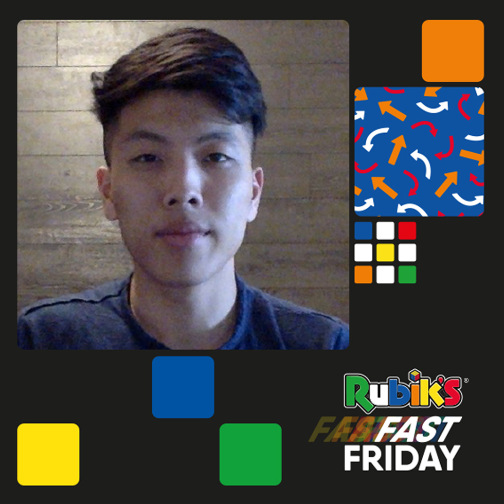 It's #FastFriday don't miss our Speedcubing ambassador Bill Wang on Instagram Live tonight at 5pm UK time!   https://t.co/shLA1XVA2l https://t.co/Xe1vnTYMSJ
