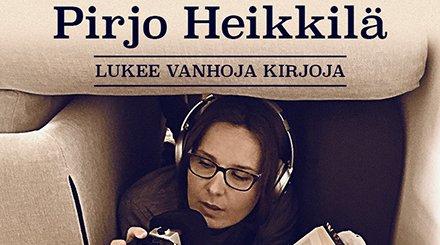 Uusi podcast-sarja: Pirjo Heikkilä lukee vanhoja kirjoja!  Pirjo Heikkilä tulkitsee kotimaisia ja maailmankirjallisuuden merkittävimpiä, mutta myös unohtuneimpia teoksia. Ja tulkitsee hyvinkin omalla tyylillään.     https://t.co/GrCN9jmVx0 https://t.co/B7HTaiGSEb