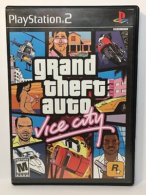 Free Shipping on GTA Grand Theft Auto: Vice City (Sony PlayStation 2 PS2, 2005) Cleaned, Tested http://dlvr.it/RZsjxz pic.twitter.com/T5pAFle2oc