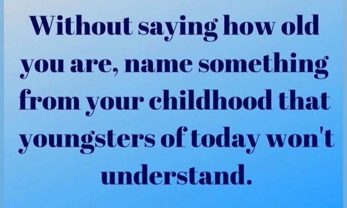 So many to choose from, which makes me feel very old!!  But I will go with rotary dail telephones, having to use your imagination when playing a game and, of course, the correlation between a cassette tape and a pencil!   Would love to hear your answers... pic.twitter.com/gBV6bujLrr  by Johanna H