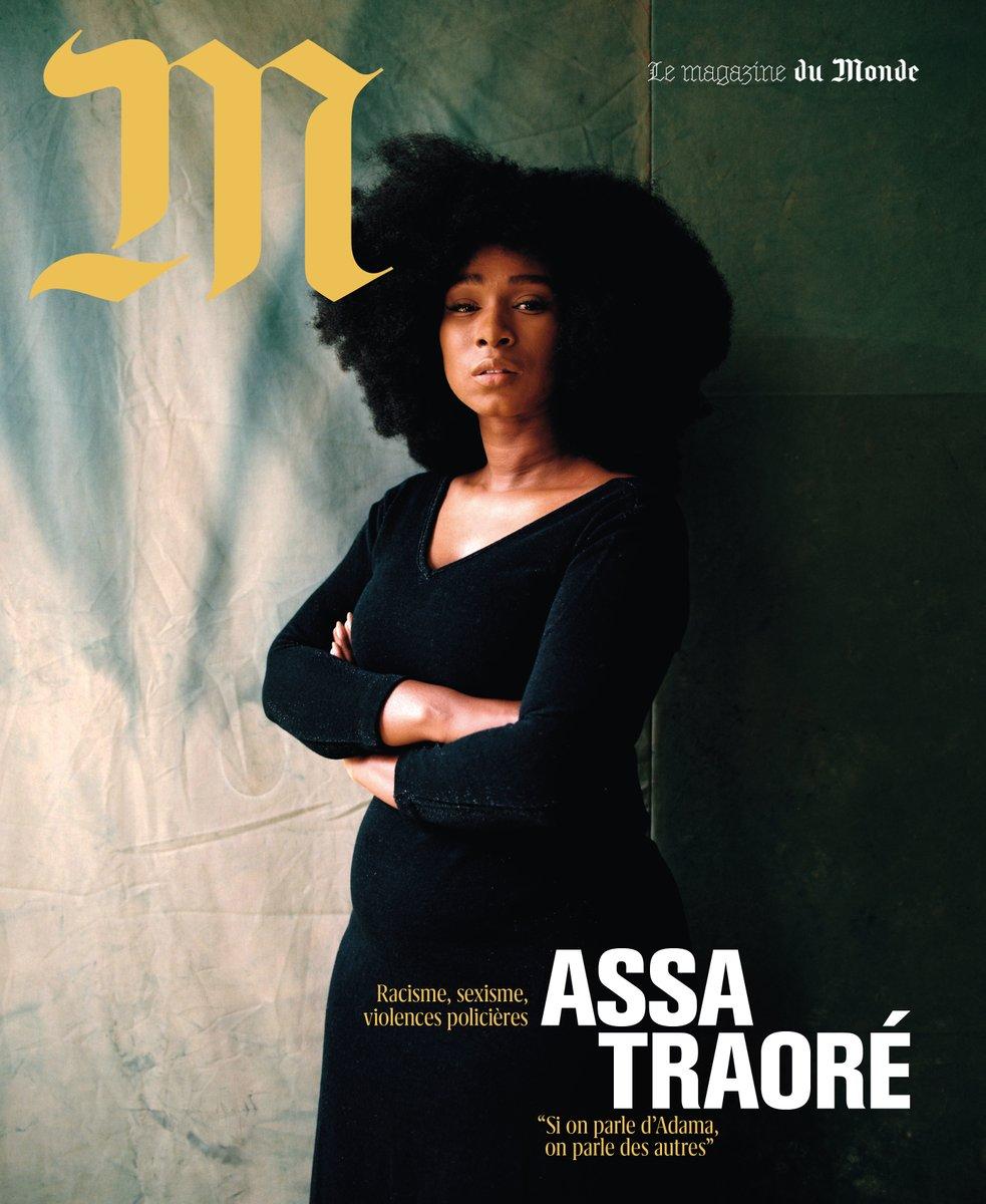 """#ALaUne de @lemonde_M Assa Traoré : """"Si on parle d'Adama, on parle des autres"""" https://t.co/Z2lwtTeQSc"""