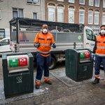 Image for the Tweet beginning: In Transvaal ruimen onze vuilnismannen
