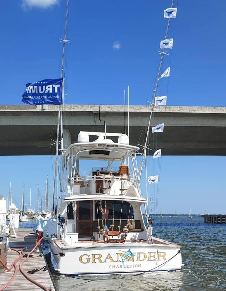 Charleston, SC - Grander went 7-7 on Sailfish.