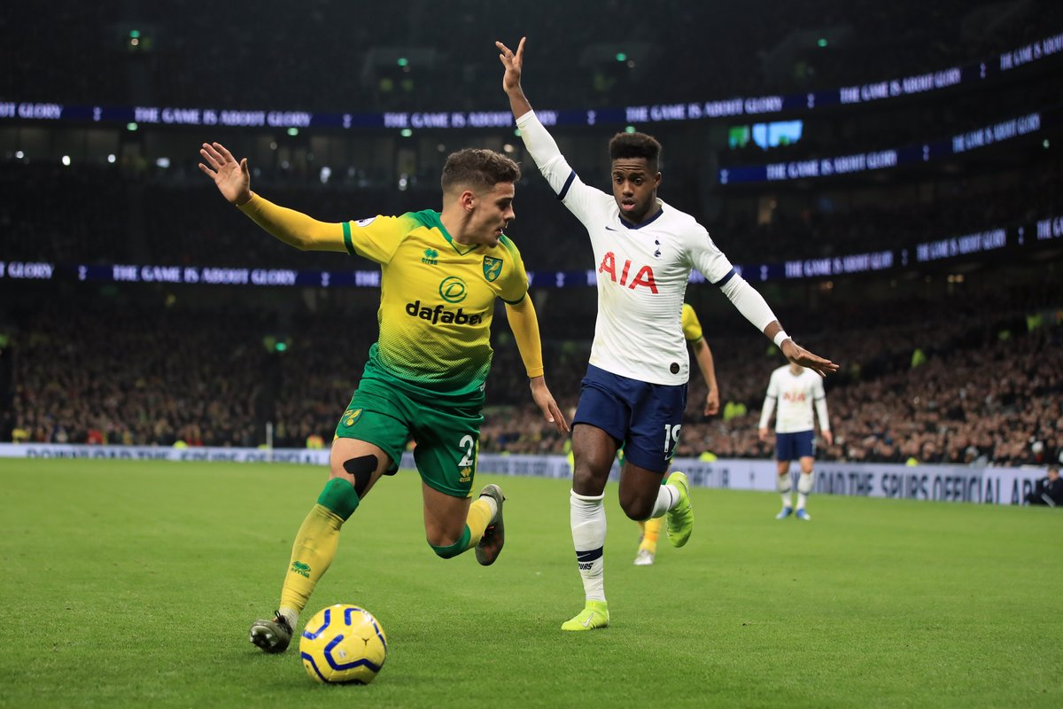 Tottenham Hotspur are still hoping to sign Norwich full-back Max Aarons this summer despite reservations from Jose Mourinho about the player's height. [The Athletic] #THFC