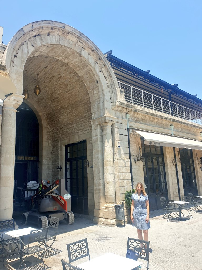 Visiting the old market of #Limassol which is under constructions  Looking forward to the reopening of #AGORA Market - end of August🗓️  Will be amazing! 🛍️🛒🥗👪 https://t.co/4ZxKxaxEQi