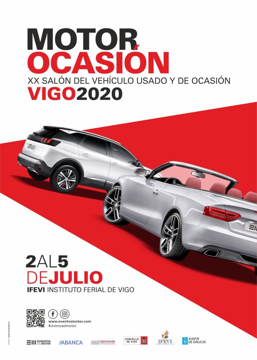 Seguimos apoyando un año más el Salón del Automóvil de Ocasión de Vigo, que se está celebrando hasta el domingo 5 en el @ifevi.  Una oportunidad única si buscas renovar tu coche 🚗. ¡Tienes más de 1.000 modelos con descuentos especiales! 👉 https://t.co/cAWOxsfEgp https://t.co/DGwWL2dFUO